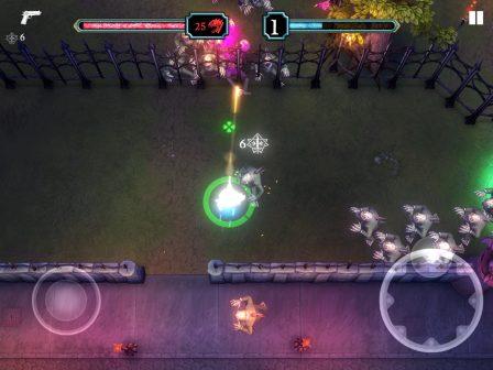Retour en grâce du shoot'em up sur iPhone et iPad avec le nouveau Tesla vs Lovecraft 2