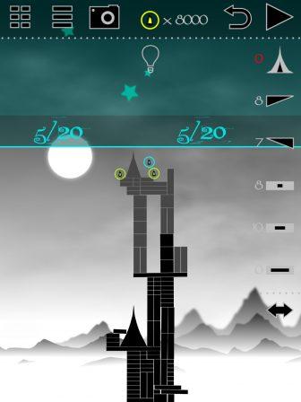 Tower of Egbert: un château à bâtir pour ce jeu au design original pour iPhone, iPad 3