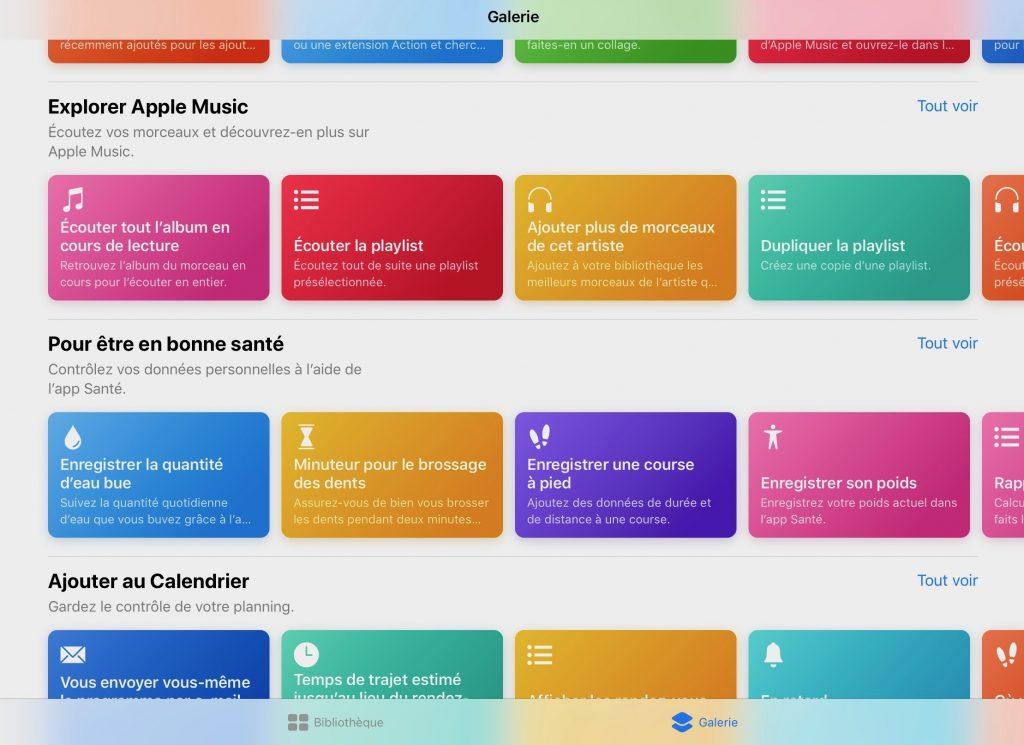 Où trouver et télécharger de nouveaux raccourcis iOS ?