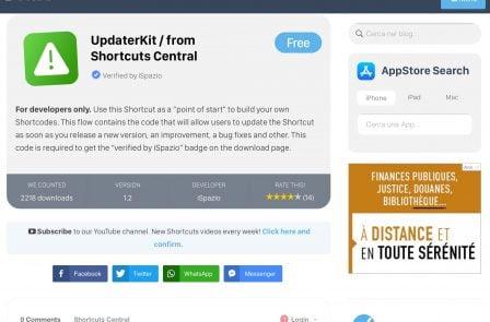 Où trouver et télécharger de nouveaux raccourcis iOS? - Màj 6