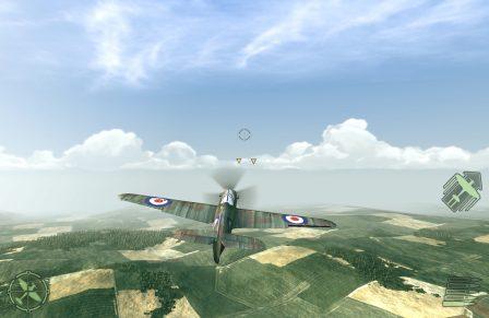 """""""Warplanes: WW2 Dogfight"""" : devenez un as du pilotage et des combats aériens sur iPhone et iPad 4"""