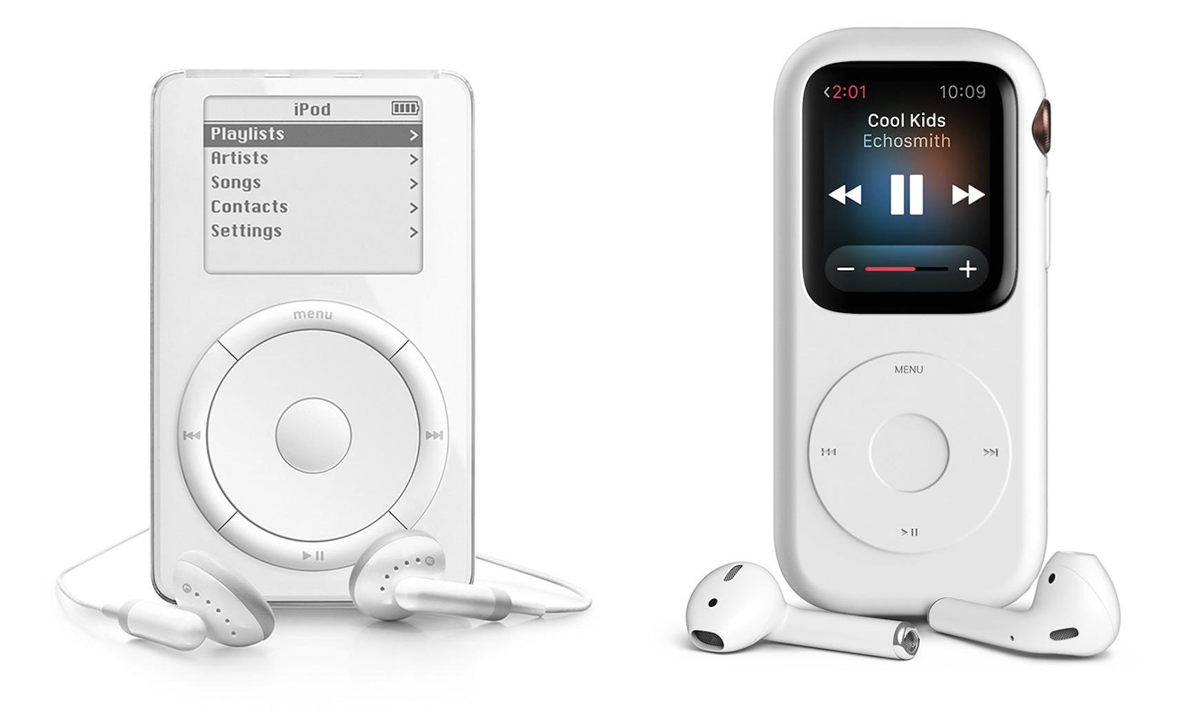 L'Apple Watch transformée en iPod Nano dans un concept ...