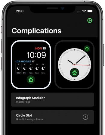 Homerun: nouvelle app pour piloter ses accessoires HomeKit depuis l'Apple Watch (complications) 4