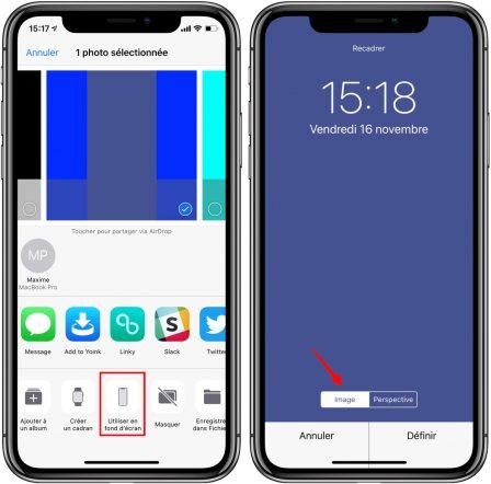 Les fonds d'écran qui font disparaitre le dock iPhone sont de retour! 3