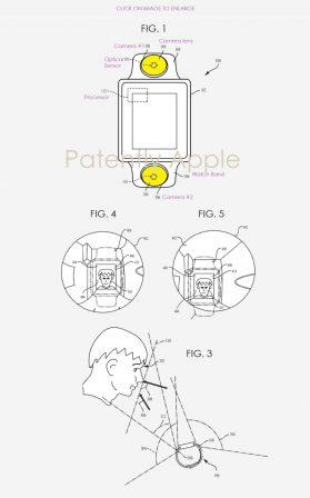 Facetime avec l'Apple Watch, Apple anticipe plusieurs caméras pour stabiliser l'image 2