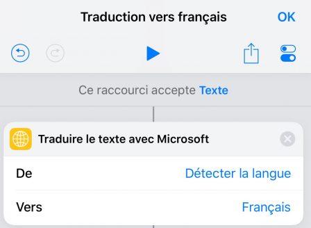 Tuto: un raccourci iOS tout simple pour traduire du texte aisément 3