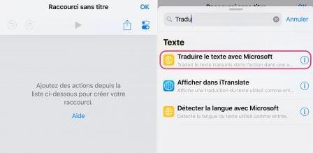 Tuto: un raccourci iOS tout simple pour traduire du texte aisément 2
