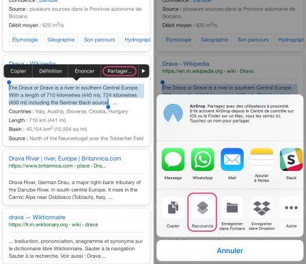 Tuto: un raccourci iOS tout simple pour traduire du texte aisément 8