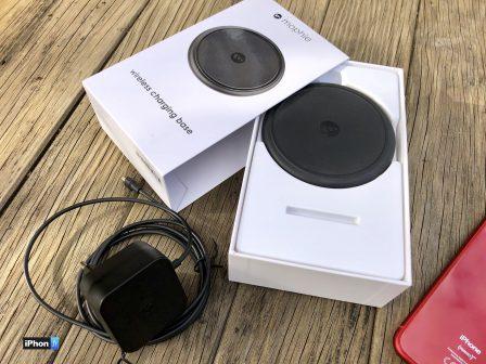 Test du chargeur sans-fil 7,5 W Mophie pour iPhone XS, XR, X et 8 2