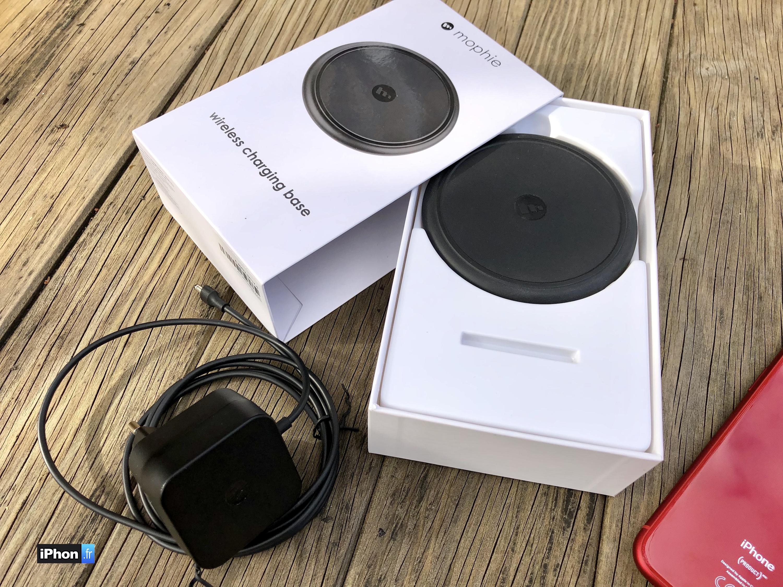 Comment Savoir Si Induction test du chargeur sans-fil 7,5 w mophie pour iphone xs, xr, x
