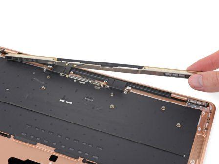 Le MacBook Air Retina démonté : clavier du MacBook Pro, Touch ID remplaçable et photos 4