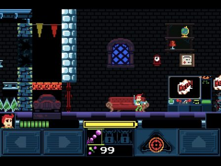 """Test """"Help! I'm Haunted"""" : pixels, fantômes et aventure 2D, recette rétro sur iPhone, iPad 2"""