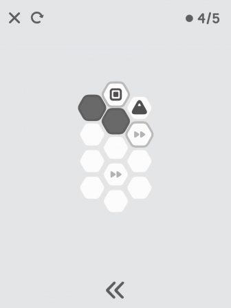 Soyez plus malins que l'I.A. dans le minimaliste Hexanome, un bon casse-tête iPhone, iPad 4