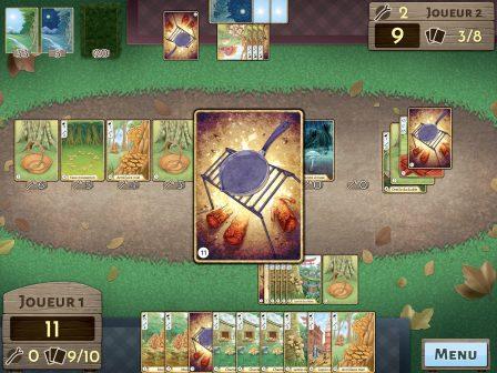 Test Morels: réalisez les plus belles poêlées de champignons, dans un jeu de cartes iPhone, iPad 2
