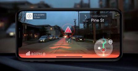 Vidéo: un GPS entièrement en Réalité Augmentée en préparation chez Phiar 2