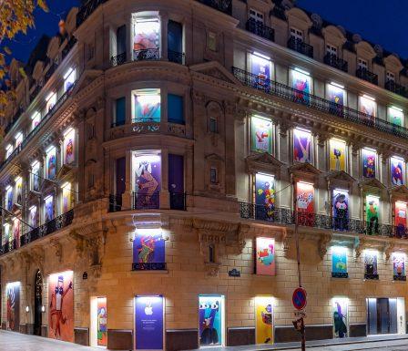 Avant-première: découverte en photos et vidéo du nouvel Apple Store des Champs-Élysées 2