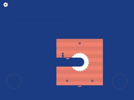 Il nous a scié ! Adresse et réflexes indispensables dans le tout récent jeu see/saw, sur iPhone, iPad 3