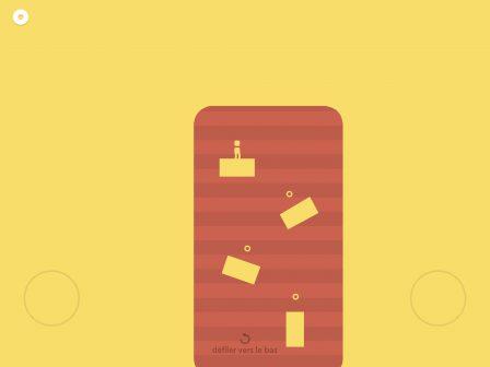 Il nous a scié ! Adresse et réflexes indispensables dans le tout récent jeu see/saw, sur iPhone, iPad 2