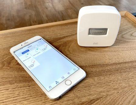 Test du capteur Eve Motion: détecteur de présence et de mouvement compatible HomeKit/Siri 8