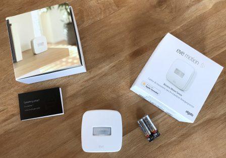 Test du capteur Eve Motion: détecteur de présence et de mouvement compatible HomeKit/Siri 2