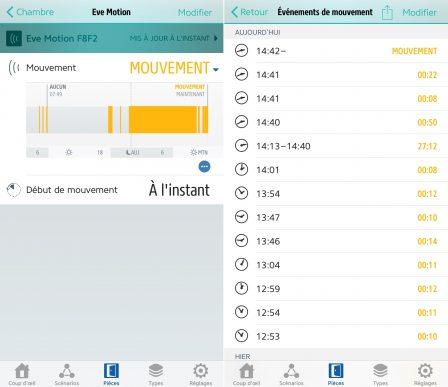 Test du capteur Eve Motion: détecteur de présence et de mouvement compatible HomeKit/Siri 13