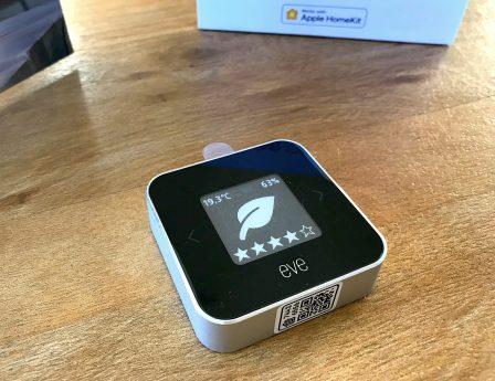 Promo flash courte -25% / Test du Eve Room v2: capteur air et température avec écran, compatible HomeKit/Siri 16