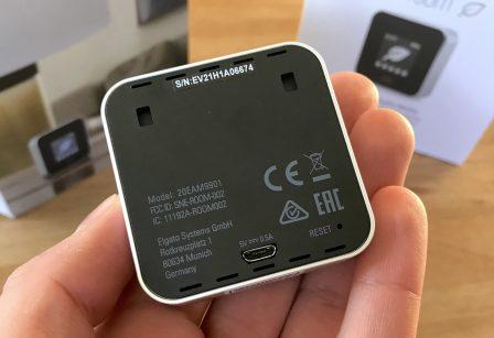 Promo flash courte -25% / Test du Eve Room v2: capteur air et température avec écran, compatible HomeKit/Siri 7