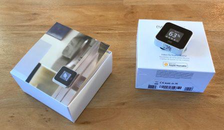Promo flash courte -25% / Test du Eve Room v2: capteur air et température avec écran, compatible HomeKit/Siri 15