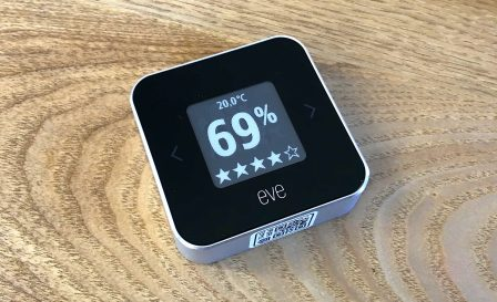 Promo flash courte -25% / Test du Eve Room v2: capteur air et température avec écran, compatible HomeKit/Siri 11