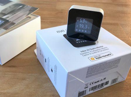 Promo flash courte -25% / Test du Eve Room v2: capteur air et température avec écran, compatible HomeKit/Siri 3