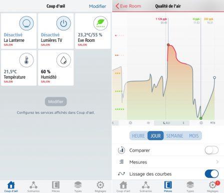 Promo flash courte -25% / Test du Eve Room v2: capteur air et température avec écran, compatible HomeKit/Siri 13