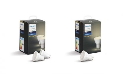 Promos kits Hue: des kits d'ampoules couleurs, blanches et spots pour étendre son installation moins cher! 7