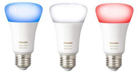 Promos kits Hue: des kits d'ampoules couleurs, blanches et spots pour étendre son installation moins cher! 2