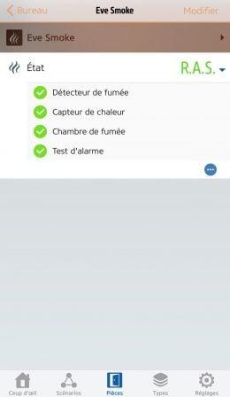 Test du capteur Eve Smoke: détecteur de fumée et de chaleur compatible HomeKit/Siri 14