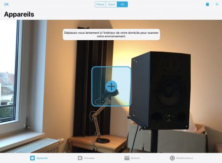 Une appli iPhone pour repérer et piloter ses accessoires Homekit en Réalité Augmentée 3