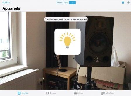 Une appli iPhone pour repérer et piloter ses accessoires Homekit en Réalité Augmentée 5
