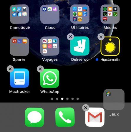 Astuce iOS (débutant) : comment faire tenir plus d'apps dans le dock iPhone 3