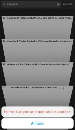 MàJ - 11 astuces à connaitre dans Safari mobile sur iPhone et iPad: surfer mieux en détails et en vidéo! 4