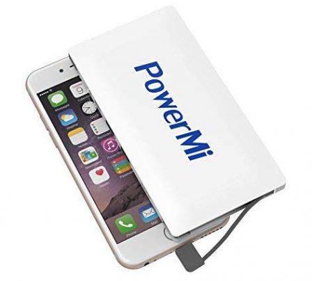 12 batteries avec câble ou prise iPhone intégré, faciles à ranger dans la poche ou le sac (MàJ) 5