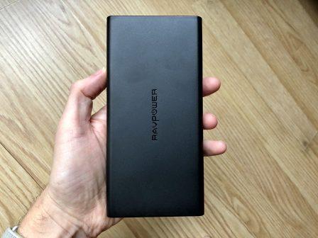Dernier jour -30% - Test de la batterie RavPower 20100 mAh: recharge rapide de l'iPhone et iPad, compatible Mac via USB-C PD 8