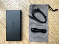 Dernier jour -30% - Test de la batterie RavPower 20100 mAh: recharge rapide de l'iPhone et iPad, compatible Mac via USB-C PD 2