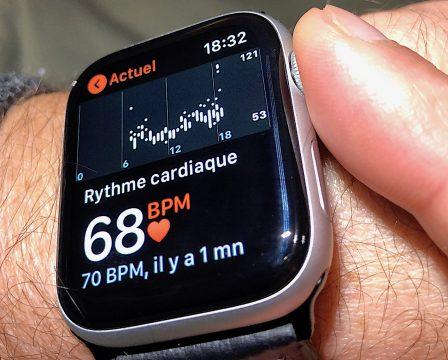 Nouveauté Apple Watch Séries 4: comment mesurer son pouls plus rapidement et précisément 4