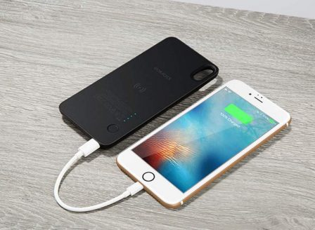 En promo flash: la coque avec batterie Qi magnétique pour iPhone X/XS et 8/Plus chez Romoss 3