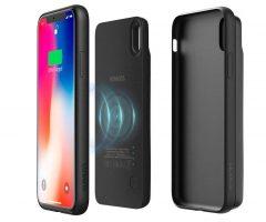 En promo flash: la coque avec batterie Qi magnétique pour iPhone X/XS et 8/Plus chez Romoss 2