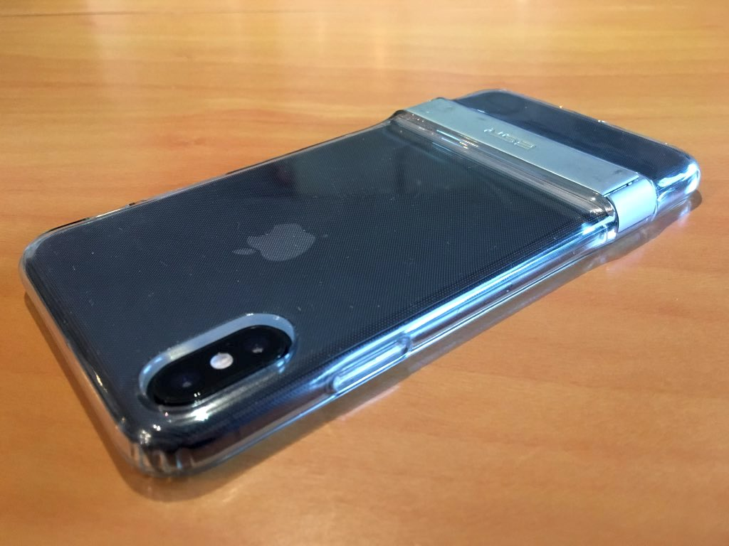 coque iphone x syncwire transparente