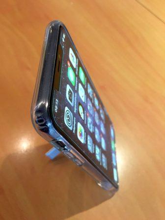 Test lecteur: la coque transparente ESR pour iPhone X, XR, XS, avec support béquille métallique! 4