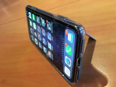 Test lecteur: la coque transparente ESR pour iPhone X, XR, XS, avec support béquille métallique! 5