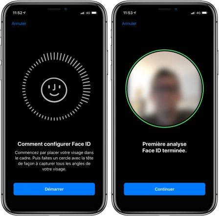 En pratique: comment ajouter un 2nd visage à la reconnaissance FaceID iPhone X, XR et XS 3