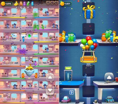 Lifty! : ambiance colorée, explosions et ascenseurs dans un nouveau jeu iPhone/iPad (MàJ) 5