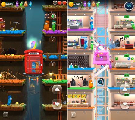 Lifty! : ambiance colorée, explosions et ascenseurs dans un nouveau jeu iPhone/iPad (MàJ) 4